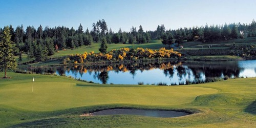 Gold Mountain Golf Course - The Olympic Washington golf packages